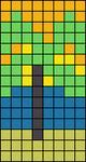 Alpha pattern #15289