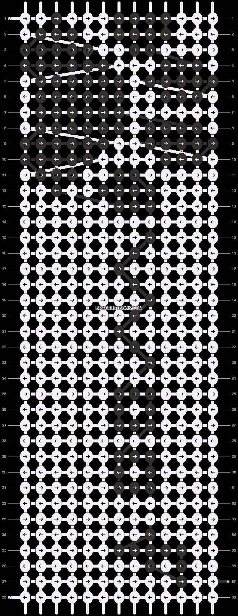 Alpha pattern #15294 pattern