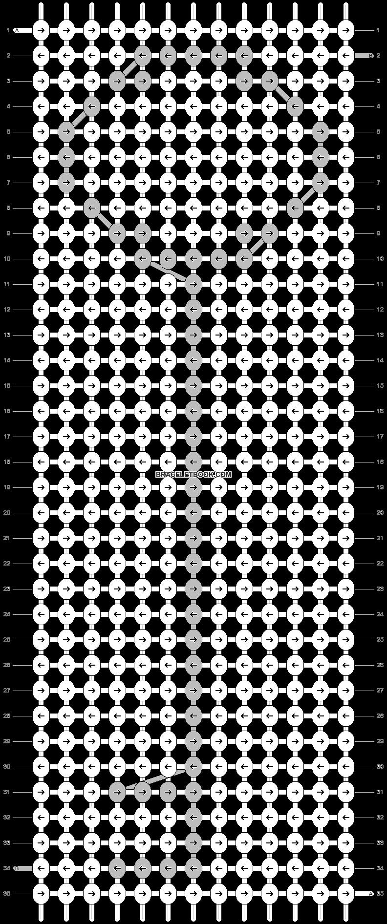 Alpha pattern #15296 pattern