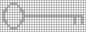 Alpha pattern #15296