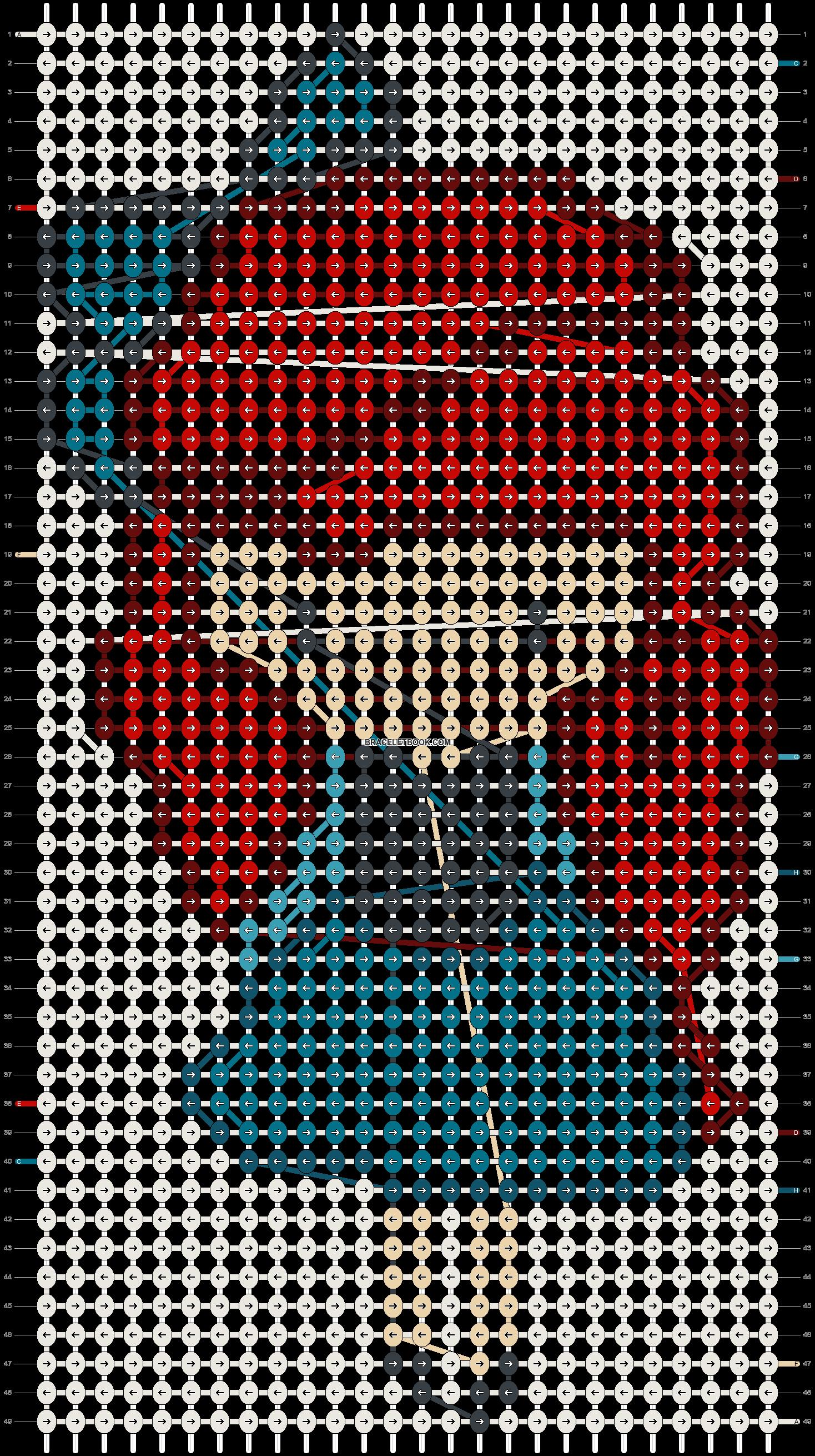Alpha pattern #15297 pattern