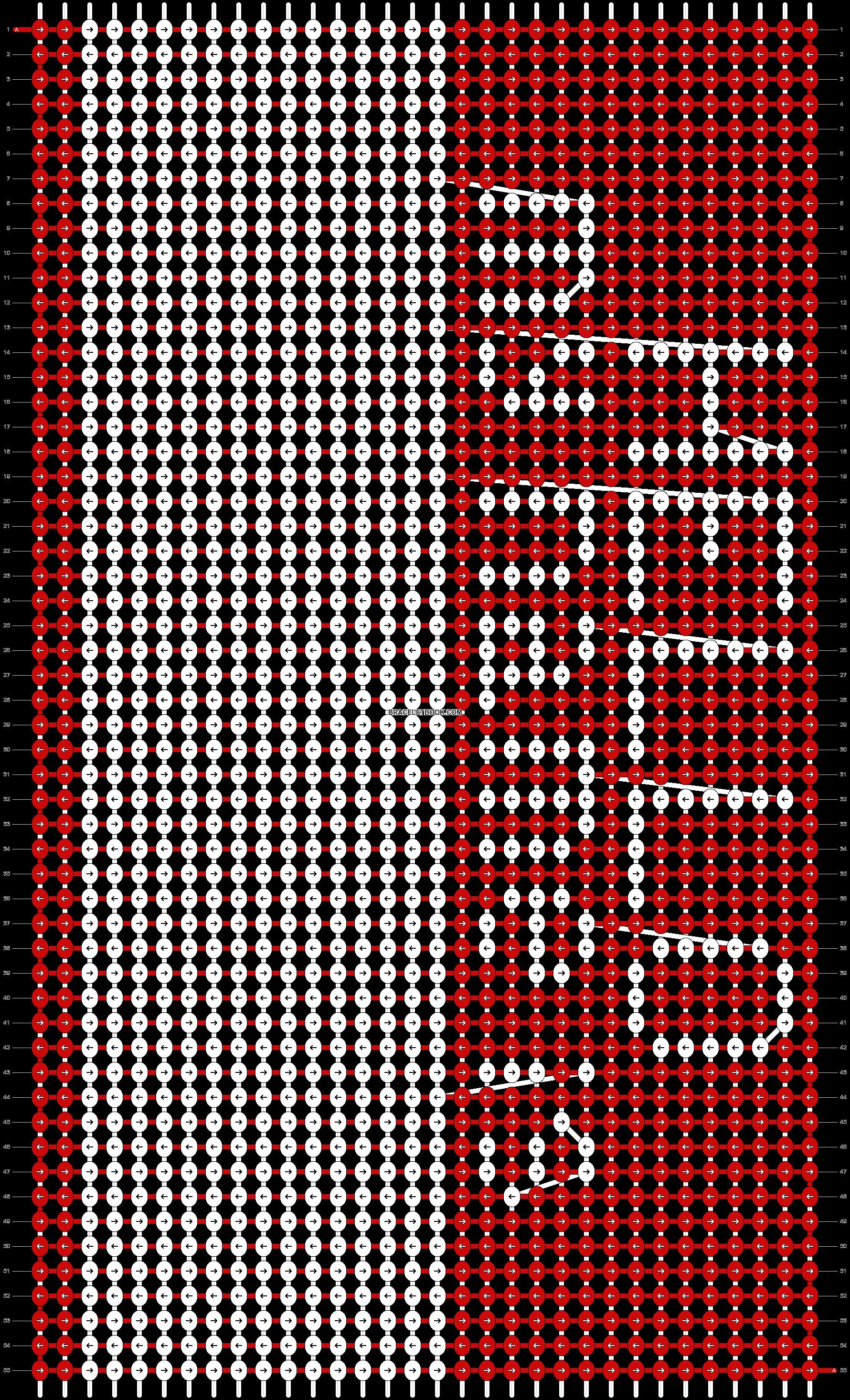 Alpha pattern #15298 pattern