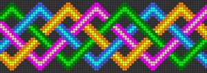 Alpha Friendship Bracelet Pattern #15299