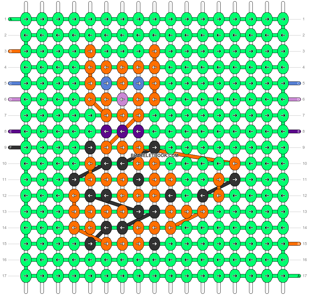 Alpha pattern #15310 pattern