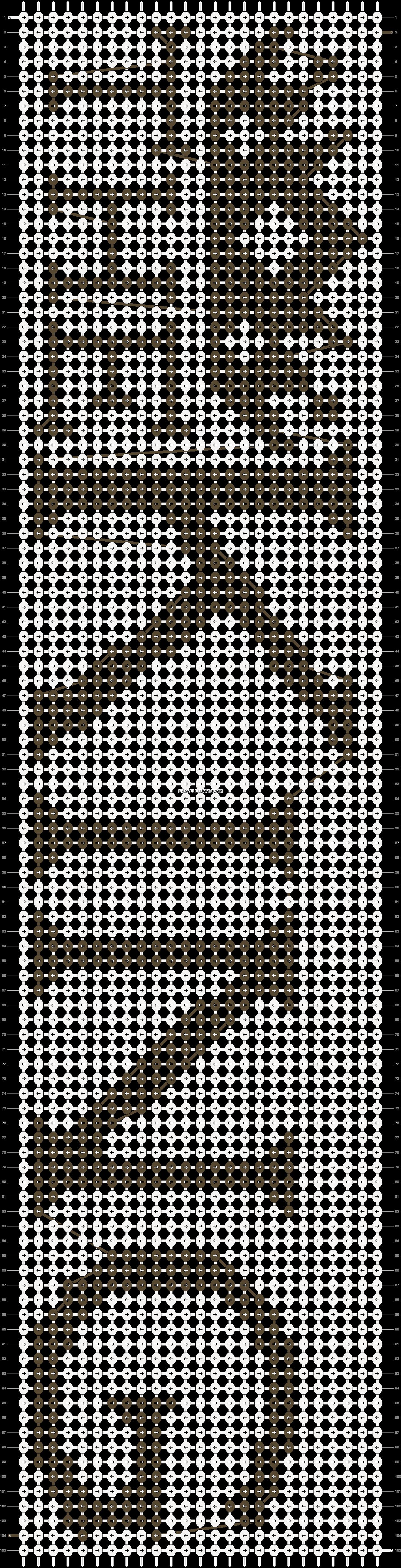 Alpha pattern #15326 pattern