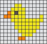 Alpha Friendship Bracelet Pattern #15332