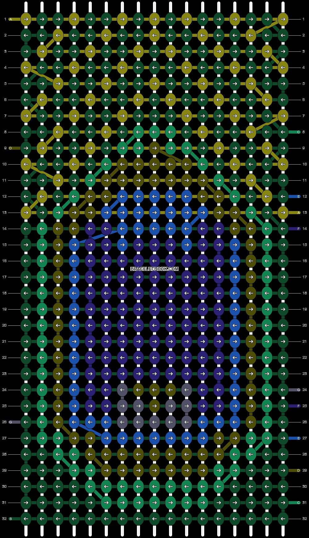 Alpha pattern #15343 pattern