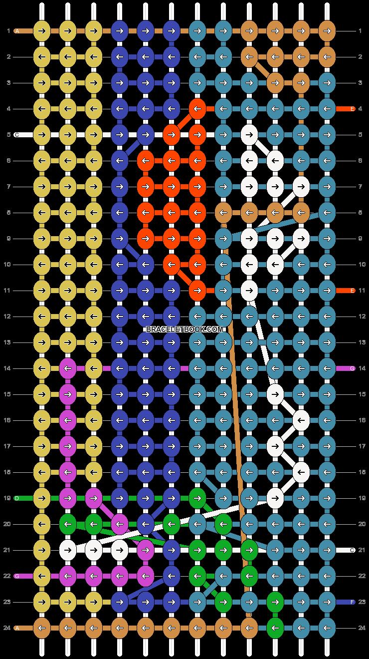 Alpha pattern #15344 pattern