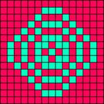 Alpha Friendship Bracelet Pattern #15353