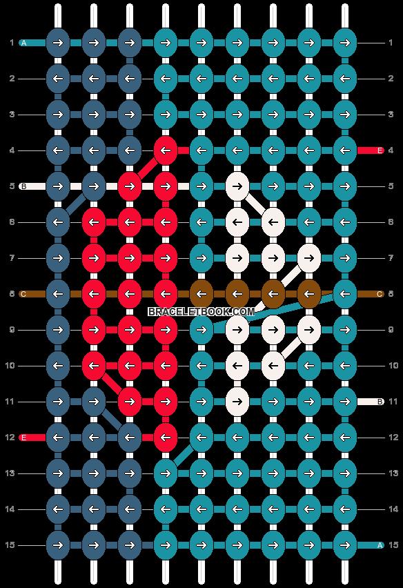 Alpha pattern #15358 pattern