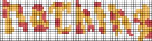 Alpha Friendship Bracelet Pattern #15360