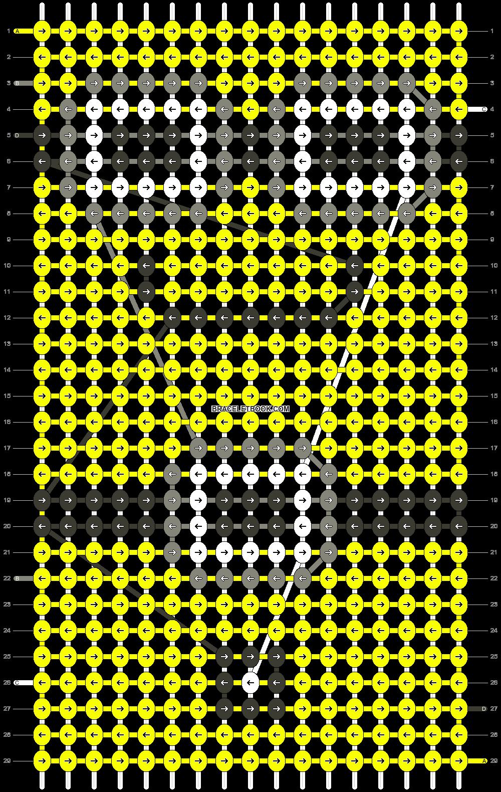 Alpha pattern #15375 pattern