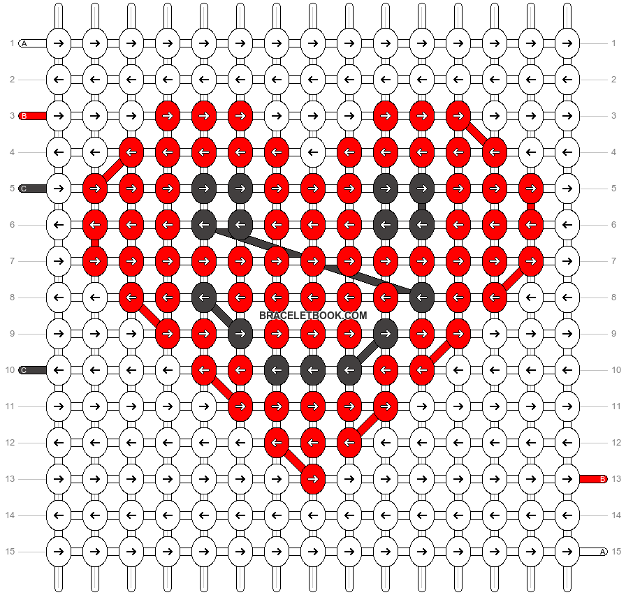 Alpha pattern #15376 pattern