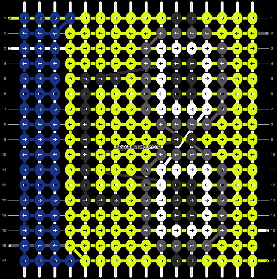 Alpha pattern #15393 pattern