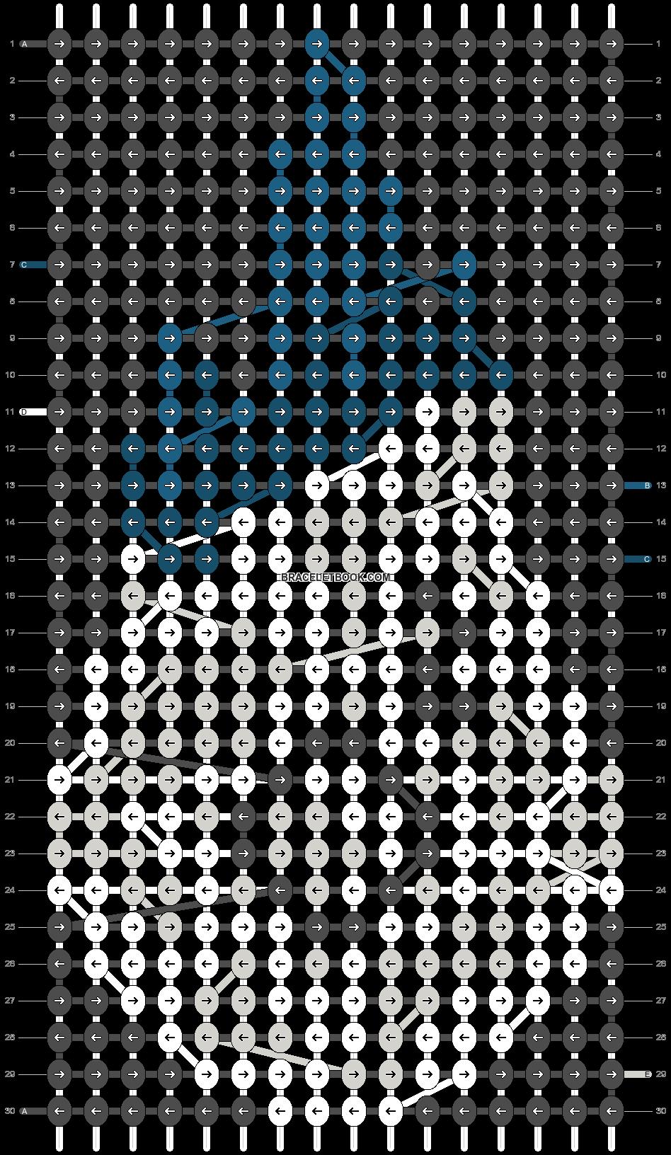 Alpha pattern #15396 pattern