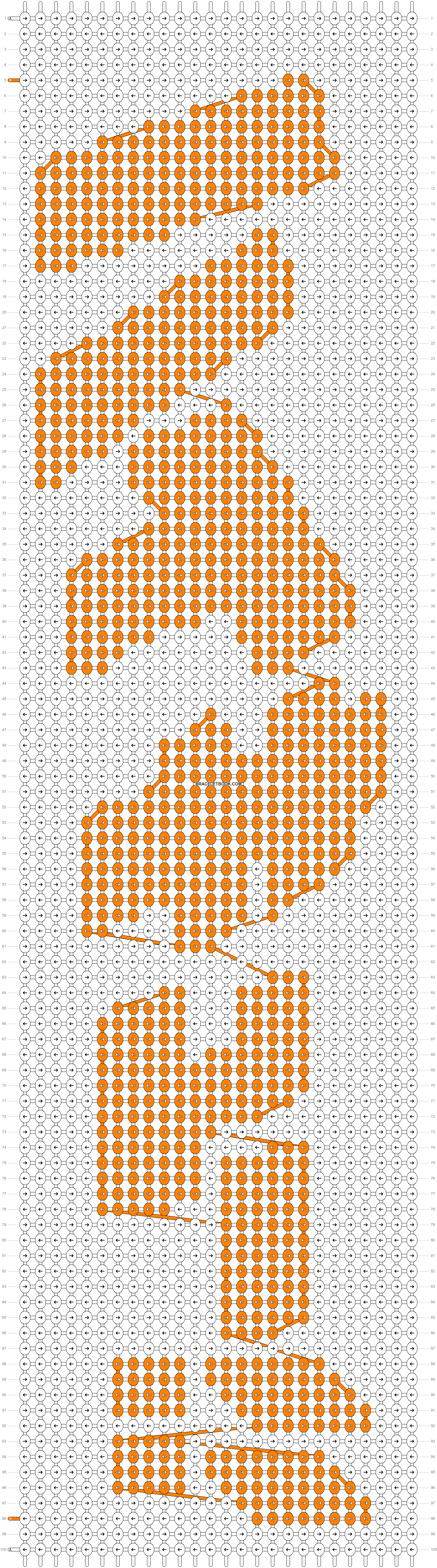 Alpha pattern #15398 pattern