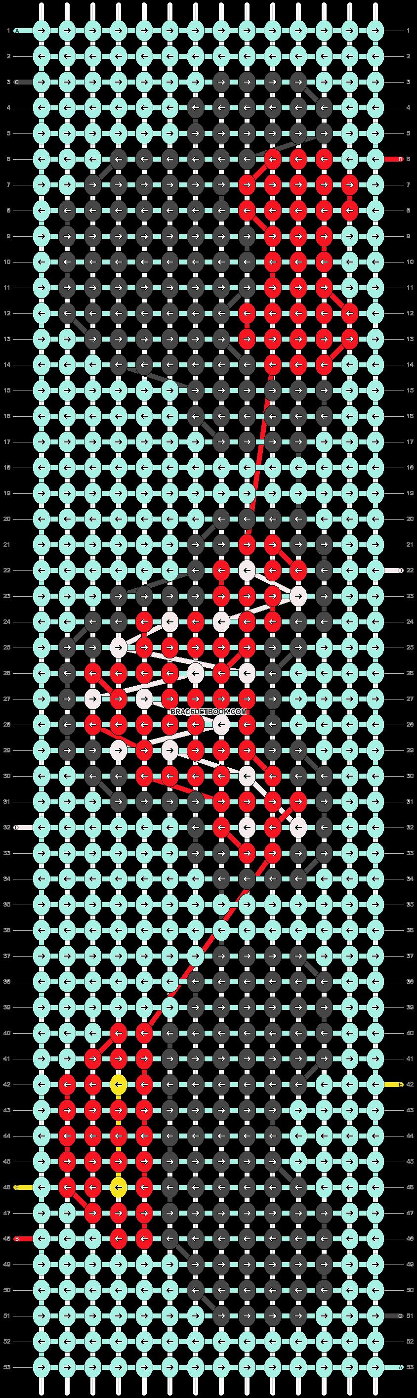 Alpha pattern #15399 pattern