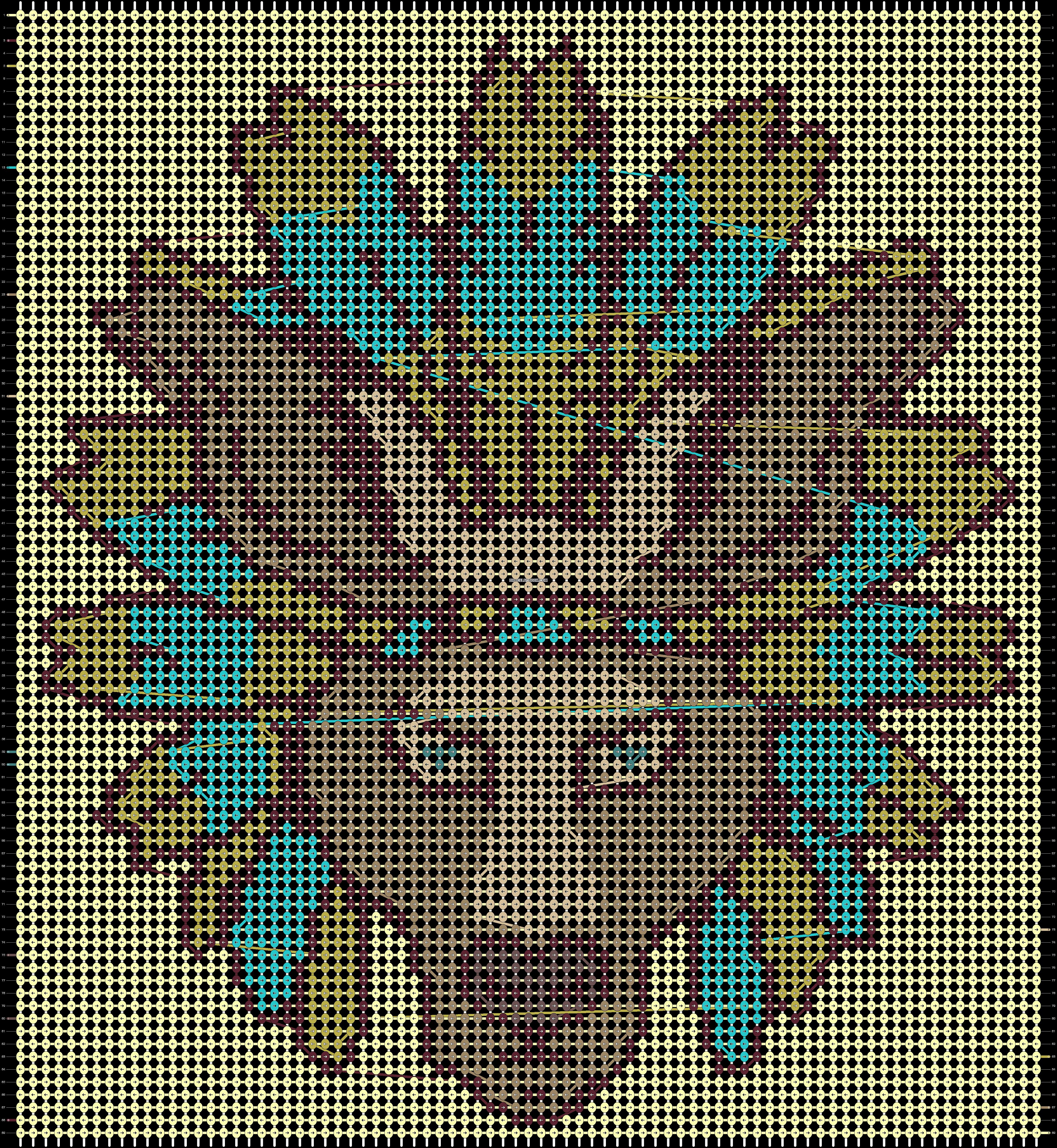 Alpha pattern #15405 pattern