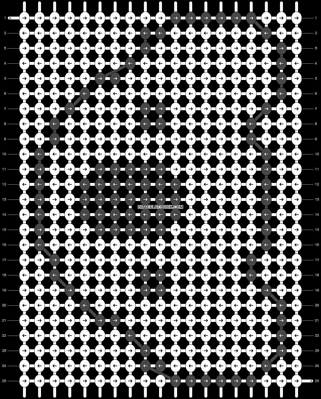 Alpha pattern #15406 pattern