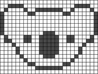 Alpha pattern #15406