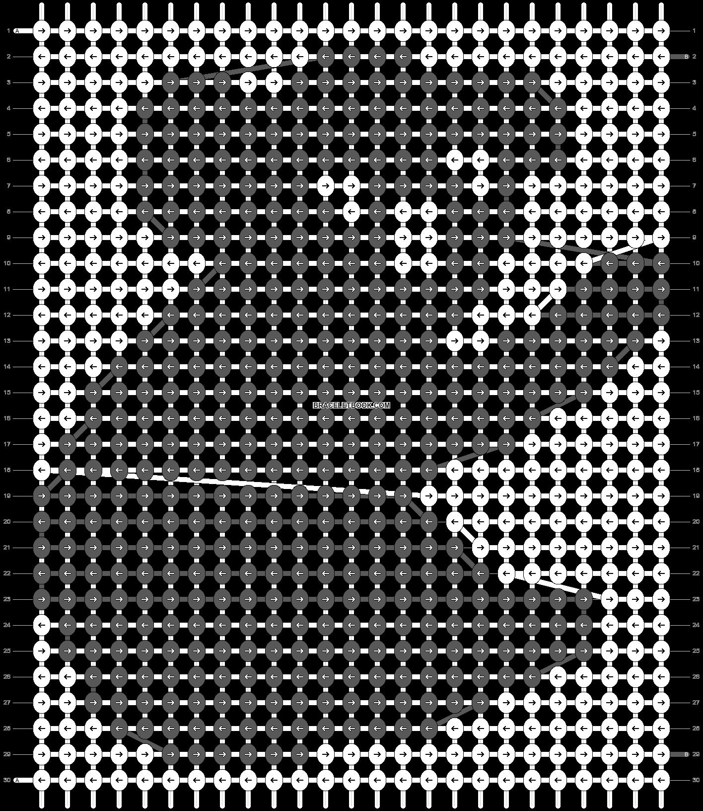 Alpha pattern #15407 pattern