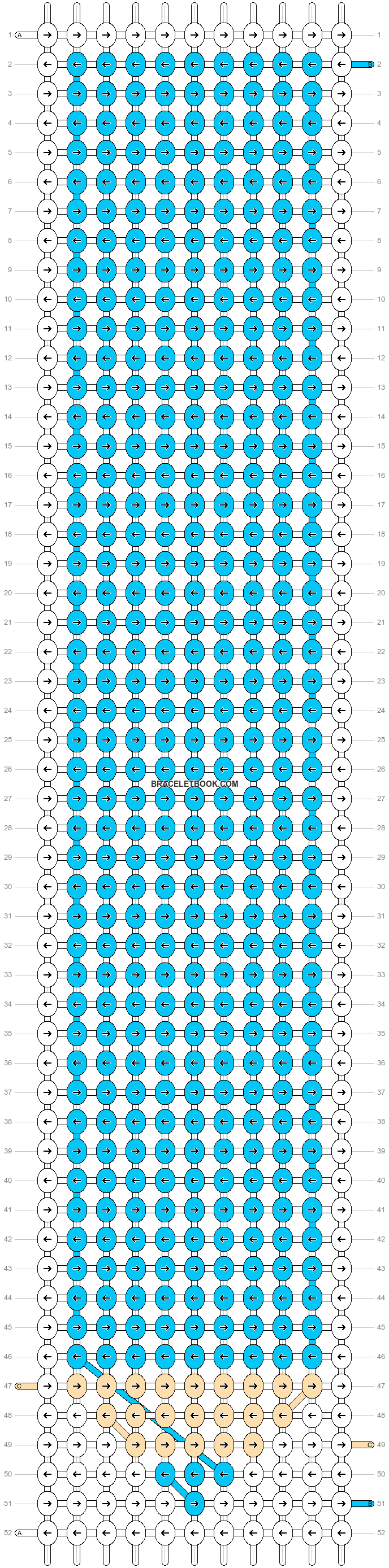 Alpha pattern #15410 pattern