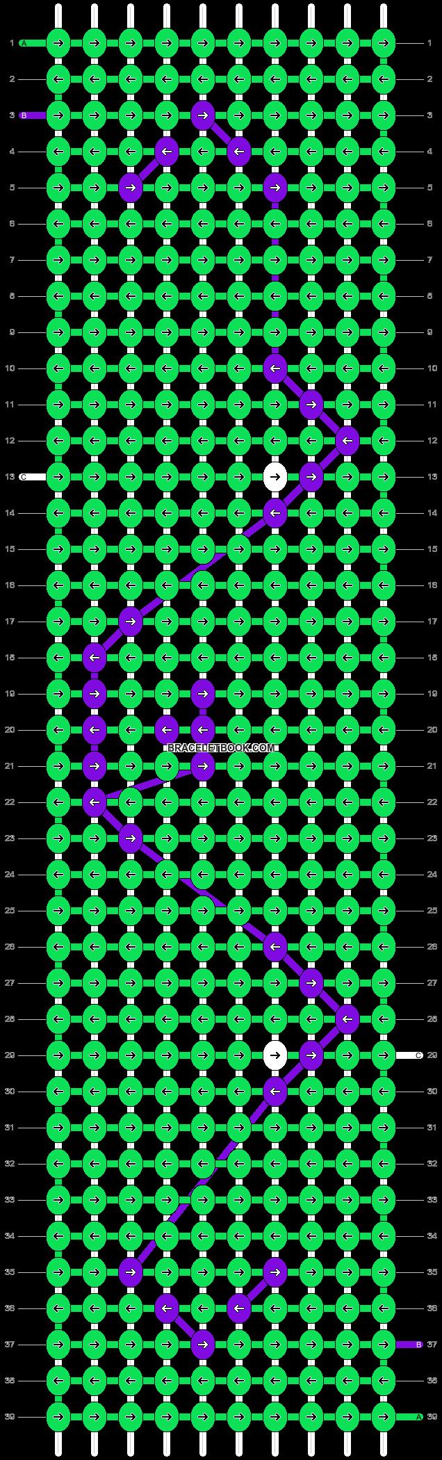 Alpha pattern #15412 pattern