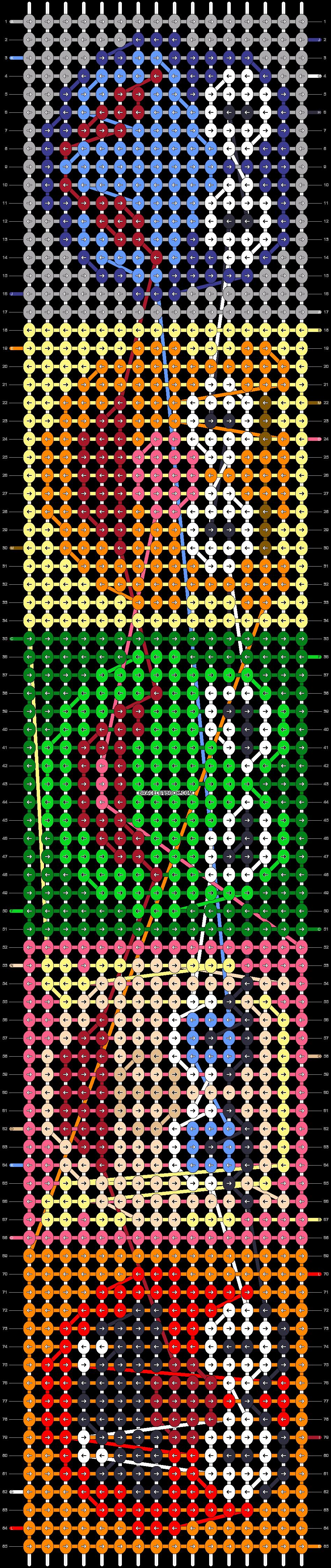 Alpha pattern #15417 pattern