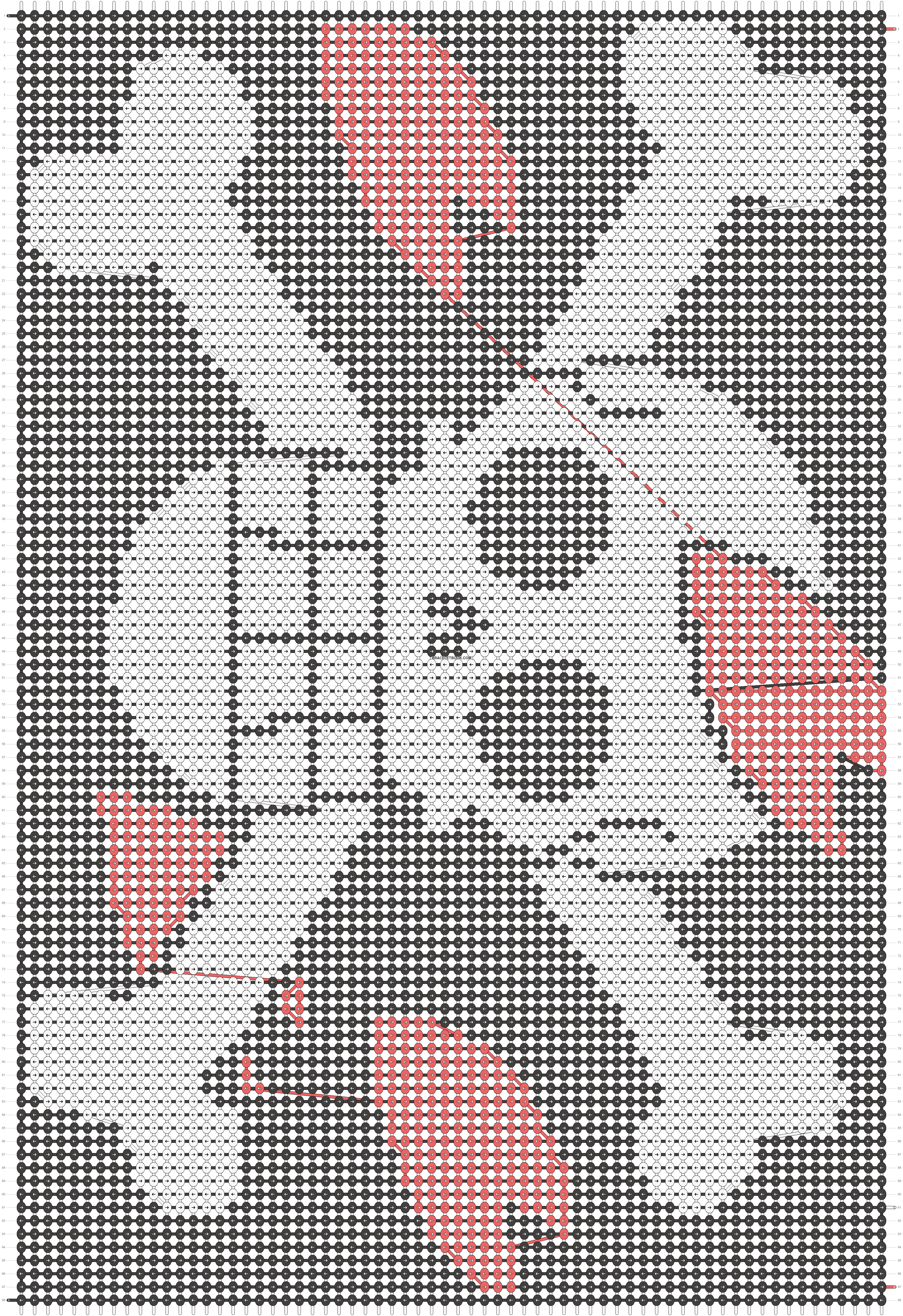 Alpha pattern #15431 pattern