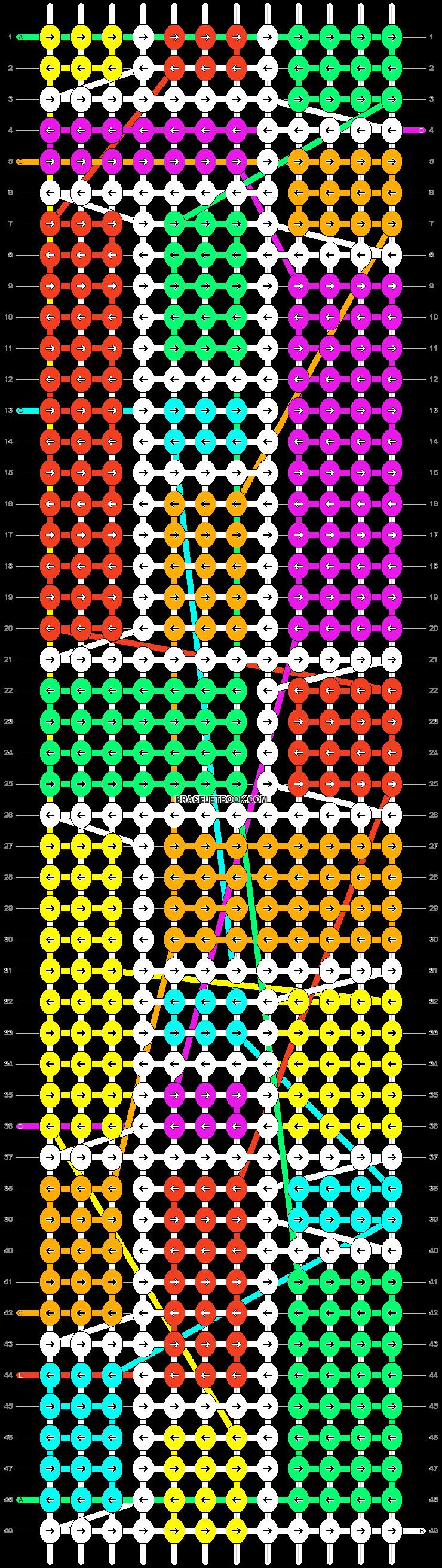 Alpha pattern #15458 pattern
