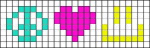 Alpha Friendship Bracelet Pattern #15466