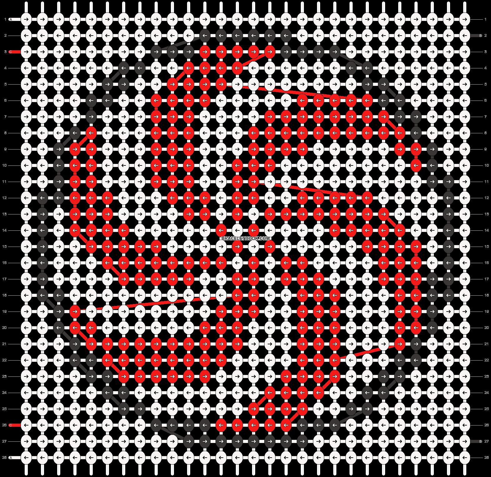 Alpha pattern #15473 pattern