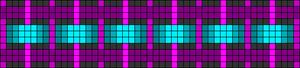 Alpha Friendship Bracelet Pattern #15474