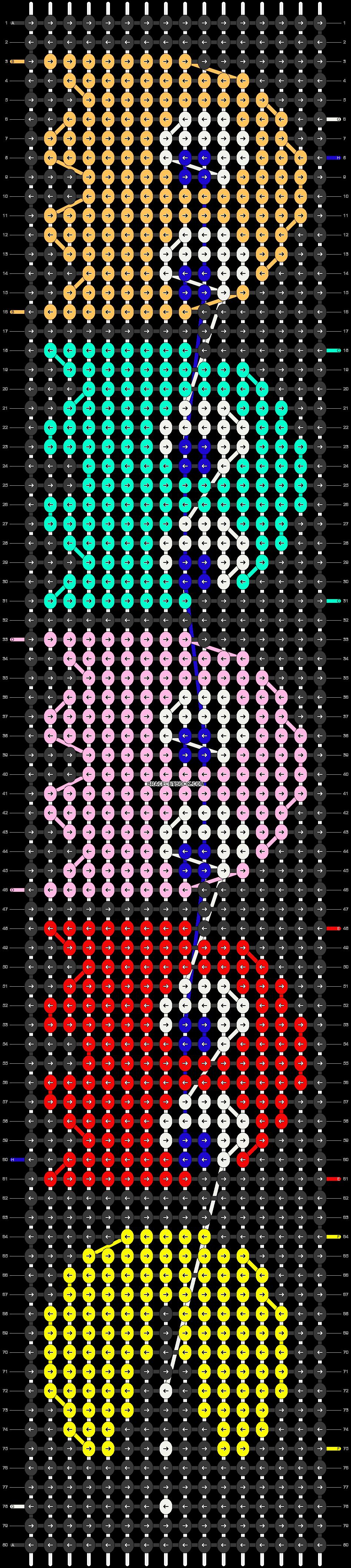 Alpha pattern #15500 pattern