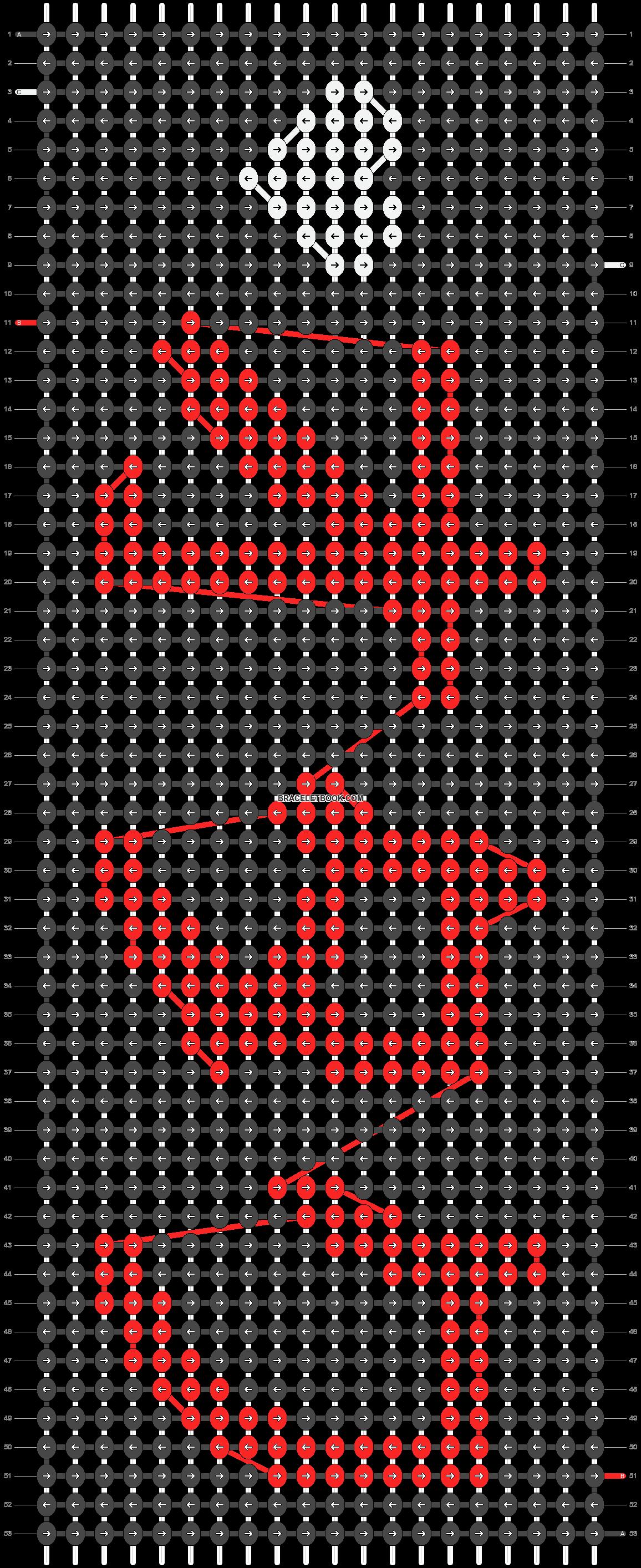 Alpha pattern #15502 pattern