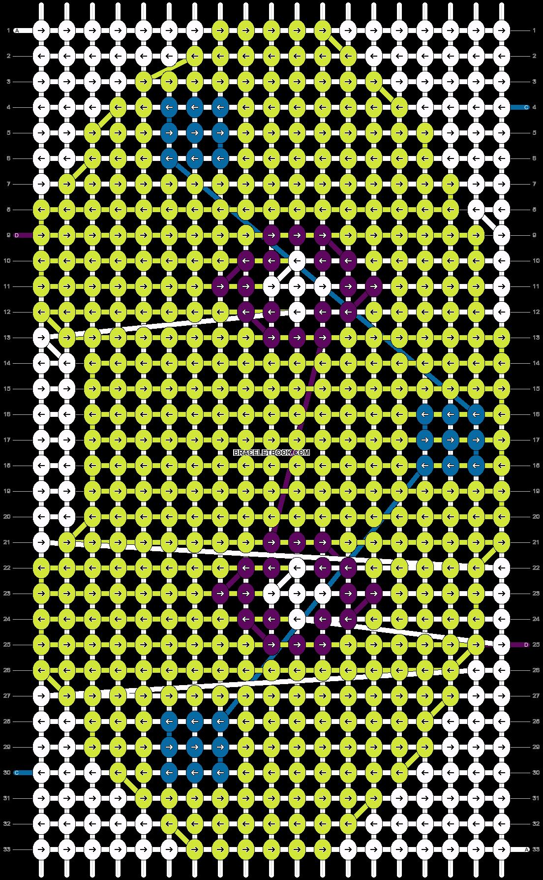 Alpha pattern #15510 pattern