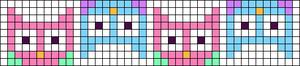Alpha Friendship Bracelet Pattern #15516