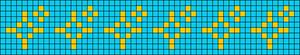 Alpha Friendship Bracelet Pattern #15535