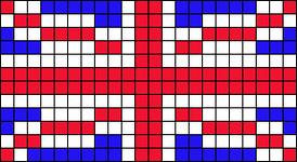 Alpha Friendship Bracelet Pattern #15536