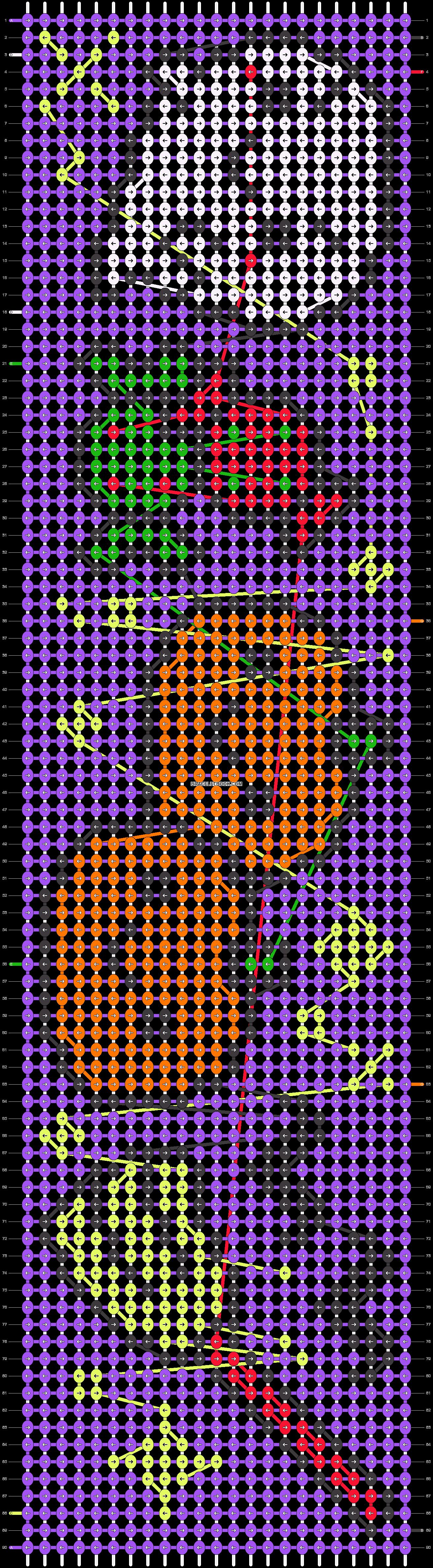 Alpha pattern #15548 pattern