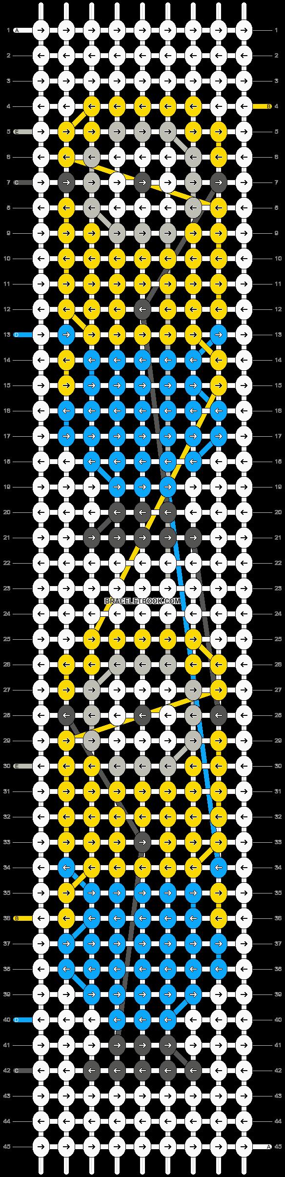 Alpha pattern #15556 pattern