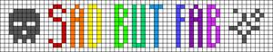 Alpha Friendship Bracelet Pattern #15563