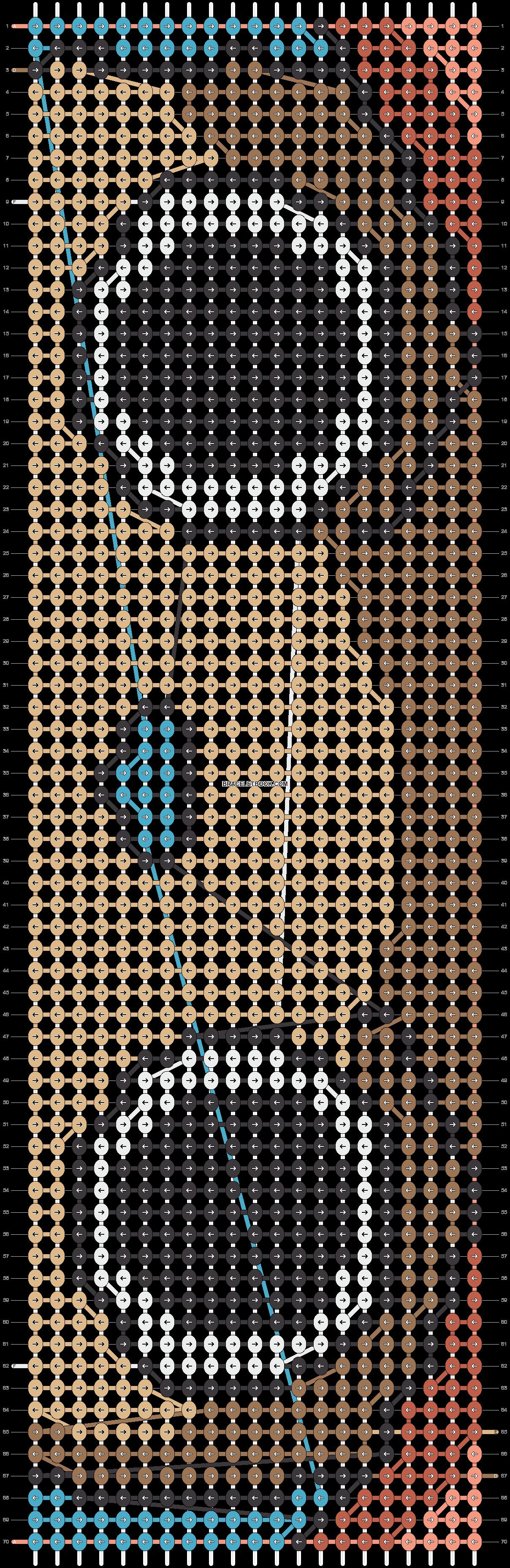 Alpha pattern #15614 pattern