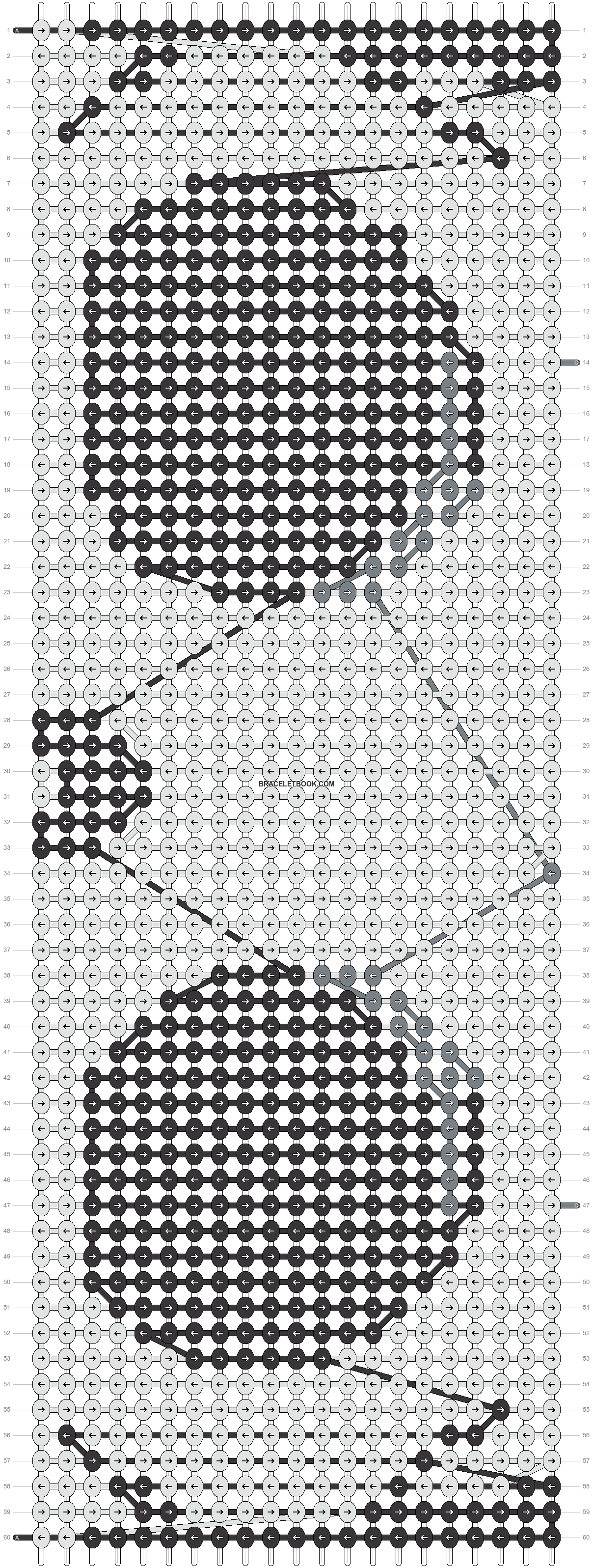 Alpha pattern #15615 pattern
