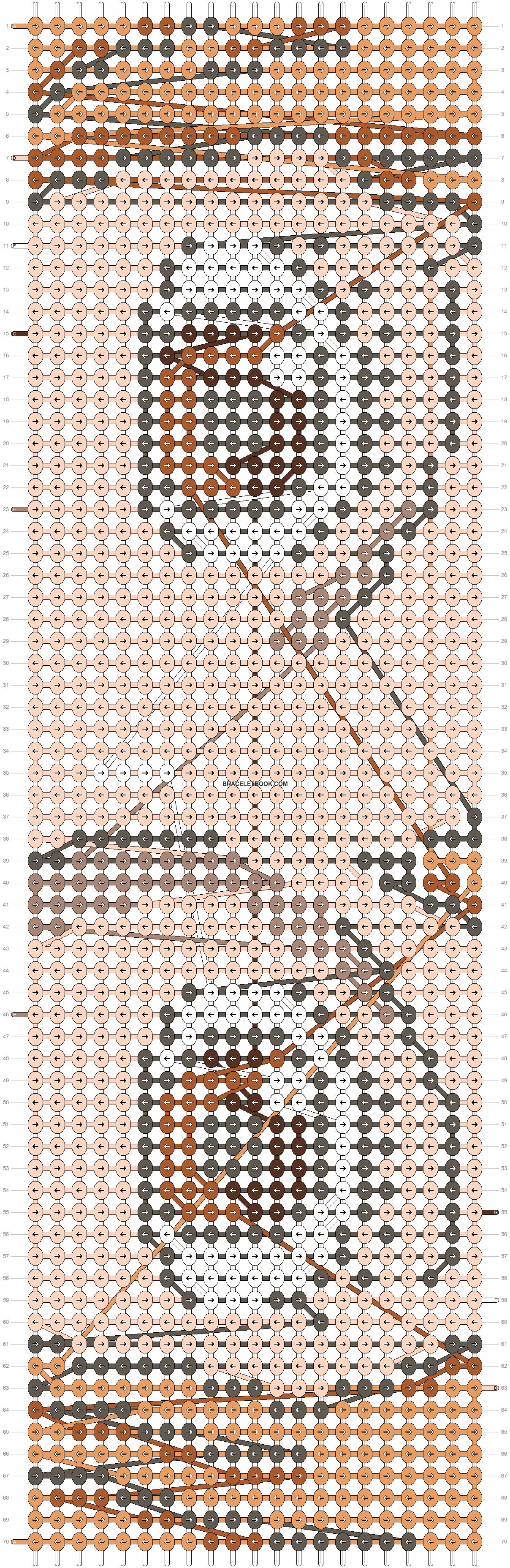 Alpha pattern #15617 pattern