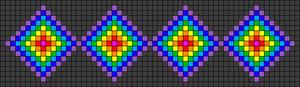 Alpha Friendship Bracelet Pattern #15618