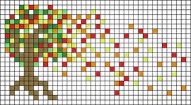 Alpha Friendship Bracelet Pattern #15622