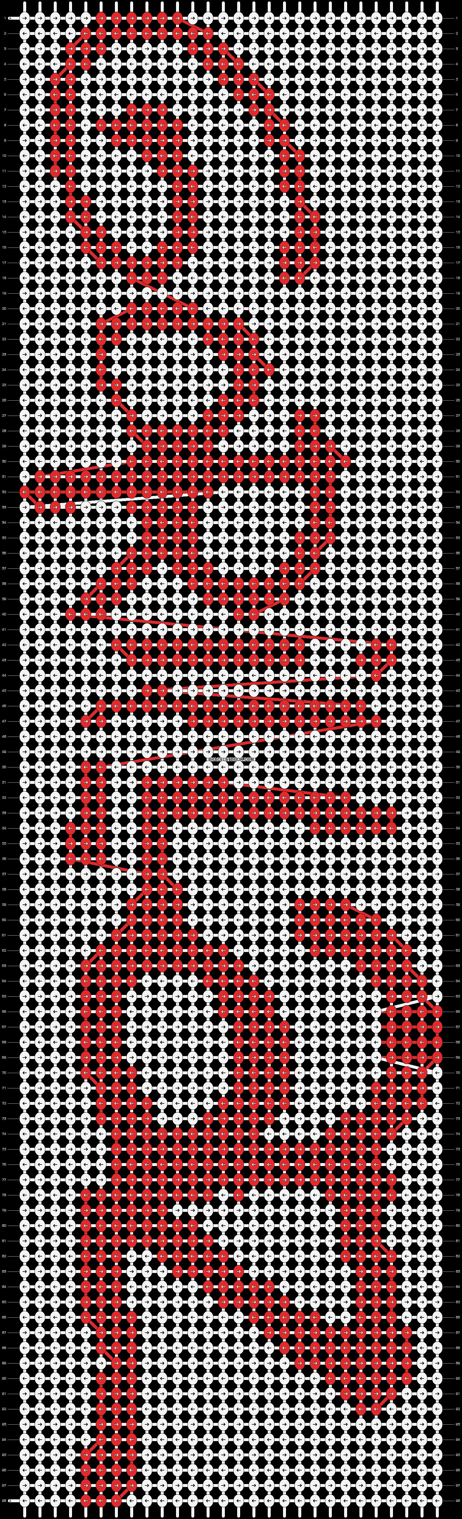 Alpha pattern #15635 pattern