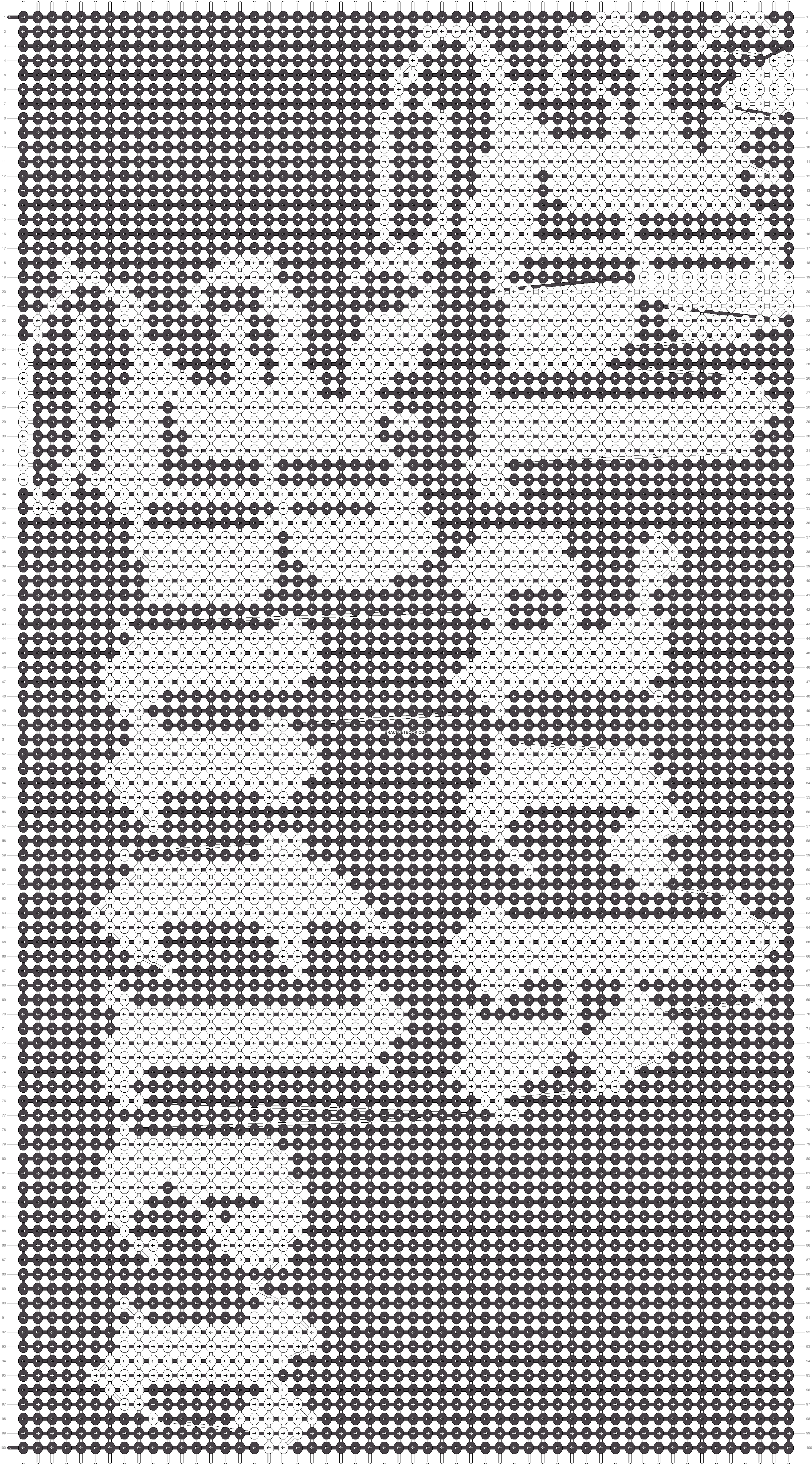 Alpha pattern #15650 pattern