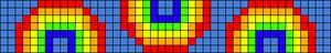 Alpha Friendship Bracelet Pattern #15665